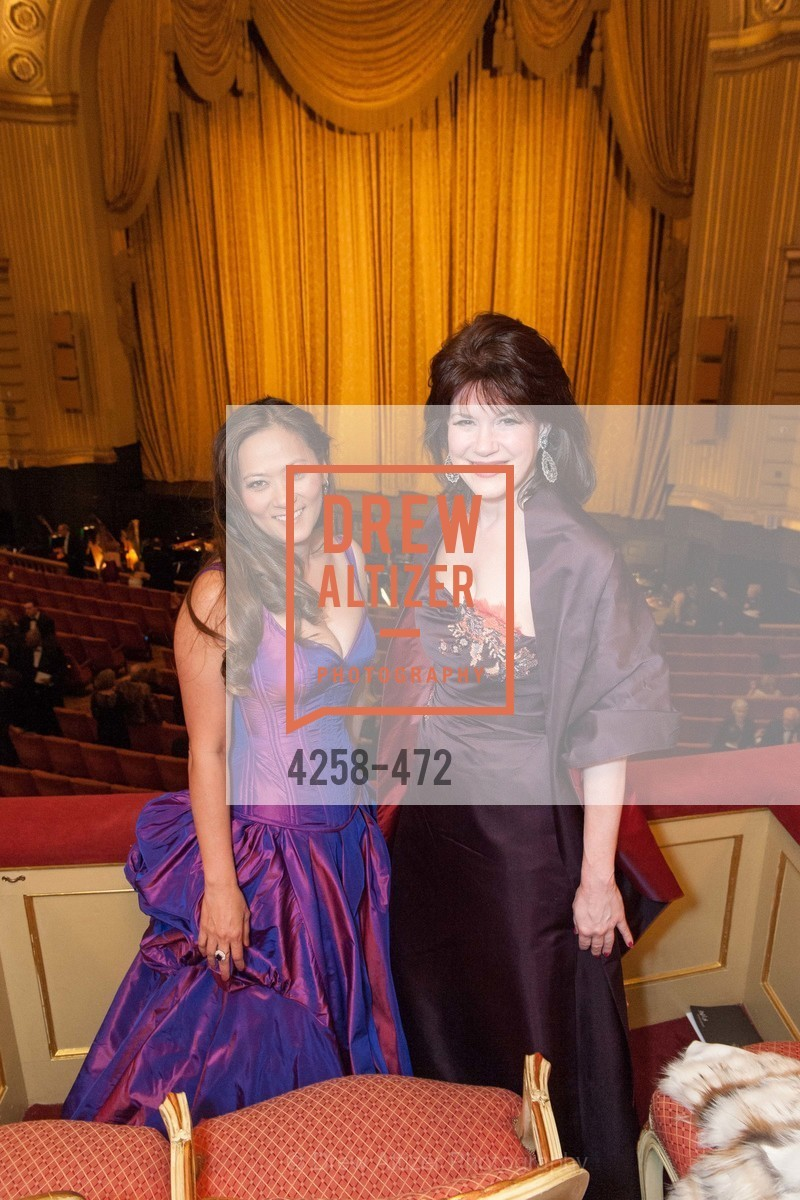 Elizabeth Fullerton, Elaine Mellis, SAN FRANCISCO BALLET Opening Night Gala: PHENOMENAL - Intermission & Dinner, US. SF City Hall, January 22nd, 2014,Drew Altizer, Drew Altizer Photography, full-service agency, private events, San Francisco photographer, photographer california