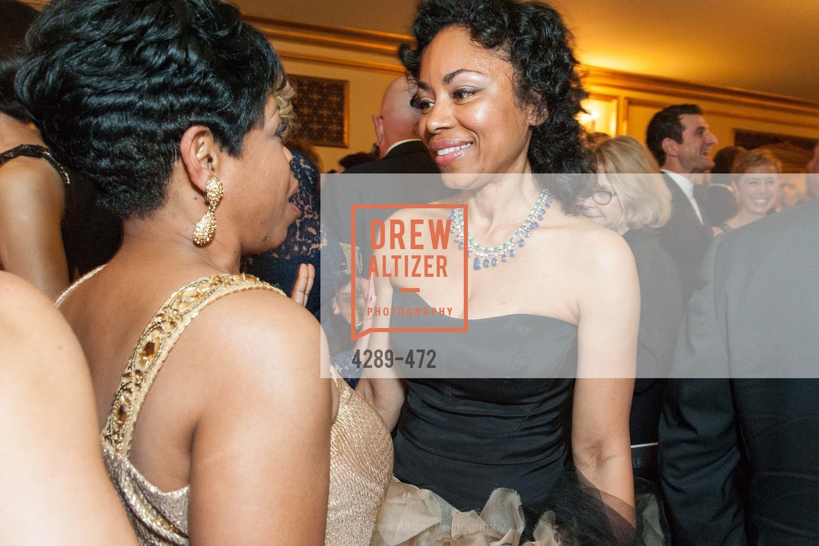 Stephanie Russell, Tanya Powell, SAN FRANCISCO BALLET Opening Night Gala: PHENOMENAL - Intermission & Dinner, US. SF City Hall, January 22nd, 2014,Drew Altizer, Drew Altizer Photography, full-service agency, private events, San Francisco photographer, photographer california