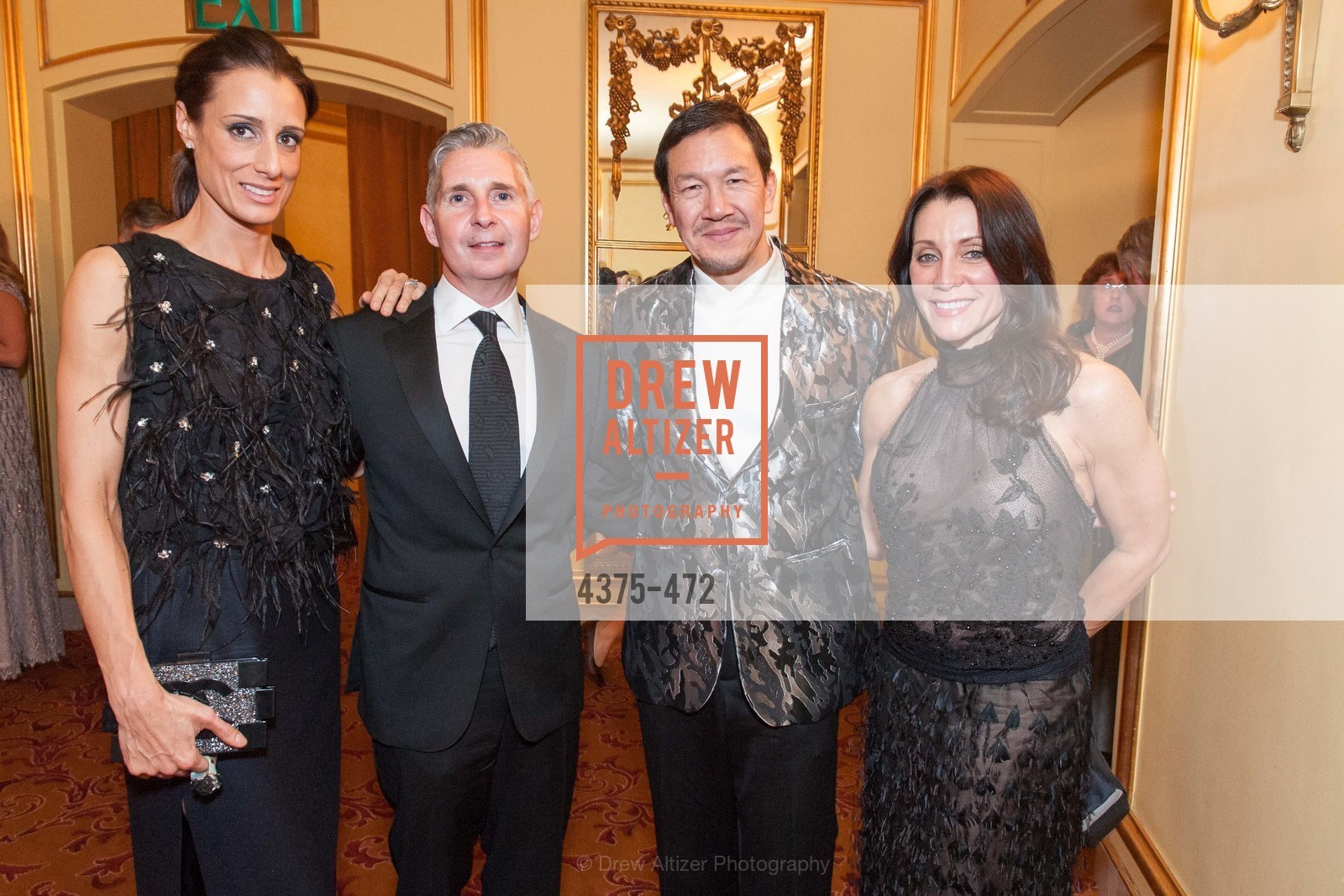 Christine Bronstein, Eric Murphy, Timothy Wu, Debra Taylor, SAN FRANCISCO BALLET Opening Night Gala: PHENOMENAL - Intermission & Dinner, US. SF City Hall, January 22nd, 2014,Drew Altizer, Drew Altizer Photography, full-service event agency, private events, San Francisco photographer, photographer California