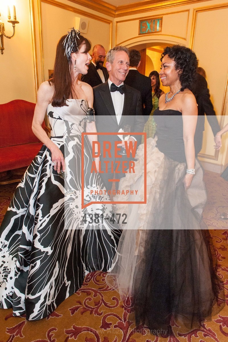 Stephanie Ejabat, Jim Marver, Tanya Powell, SAN FRANCISCO BALLET Opening Night Gala: PHENOMENAL - Intermission & Dinner, US. SF City Hall, January 22nd, 2014,Drew Altizer, Drew Altizer Photography, full-service agency, private events, San Francisco photographer, photographer california