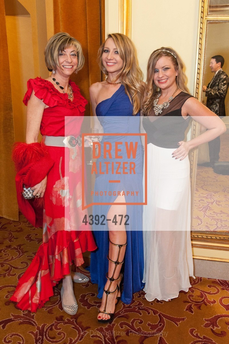 Ludmilla Eggleton, Lana Ricketts, Julie Hall, SAN FRANCISCO BALLET Opening Night Gala: PHENOMENAL - Intermission & Dinner, US. SF City Hall, January 22nd, 2014,Drew Altizer, Drew Altizer Photography, full-service event agency, private events, San Francisco photographer, photographer California