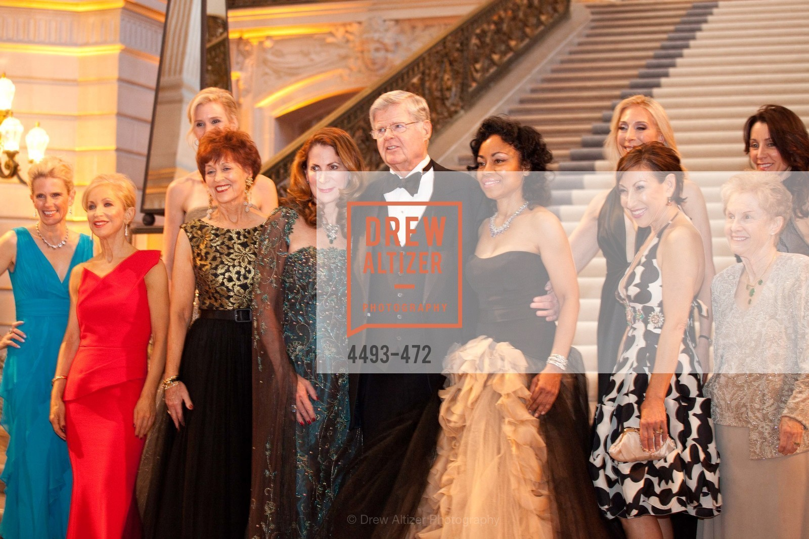 Marie Hurabiell, Shelley Gordon, Alison Mauze, Suzanne Thornton, Patricia Ferrin Loucks, Richard Barker, Tanya Powell, Betsy Linder, Cathy Goodman, Debra Taylor, SAN FRANCISCO BALLET Opening Night Gala: PHENOMENAL - Intermission & Dinner, US. SF City Hall, January 22nd, 2014,Drew Altizer, Drew Altizer Photography, full-service agency, private events, San Francisco photographer, photographer california