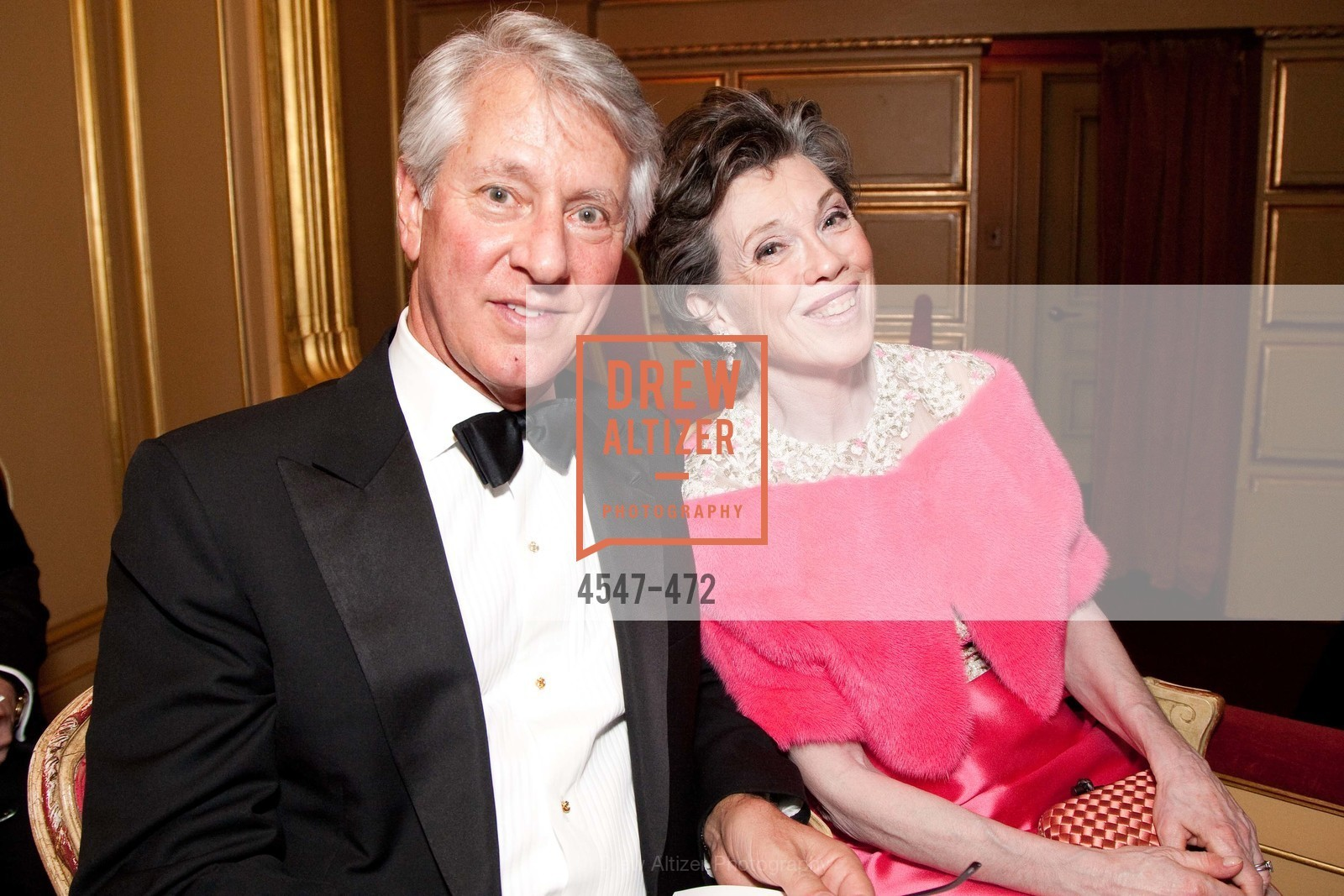 Jeffrey Hays, Carole Shorenstein Hays, SAN FRANCISCO BALLET Opening Night Gala: PHENOMENAL - Intermission & Dinner, US. SF City Hall, January 22nd, 2014,Drew Altizer, Drew Altizer Photography, full-service agency, private events, San Francisco photographer, photographer california