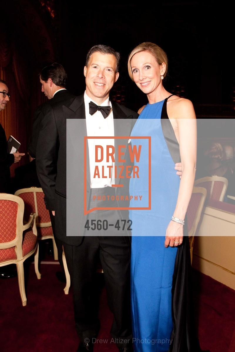 Bill Sonneborn, Karen Sonneborn, SAN FRANCISCO BALLET Opening Night Gala: PHENOMENAL - Intermission & Dinner, US. SF City Hall, January 22nd, 2014,Drew Altizer, Drew Altizer Photography, full-service agency, private events, San Francisco photographer, photographer california