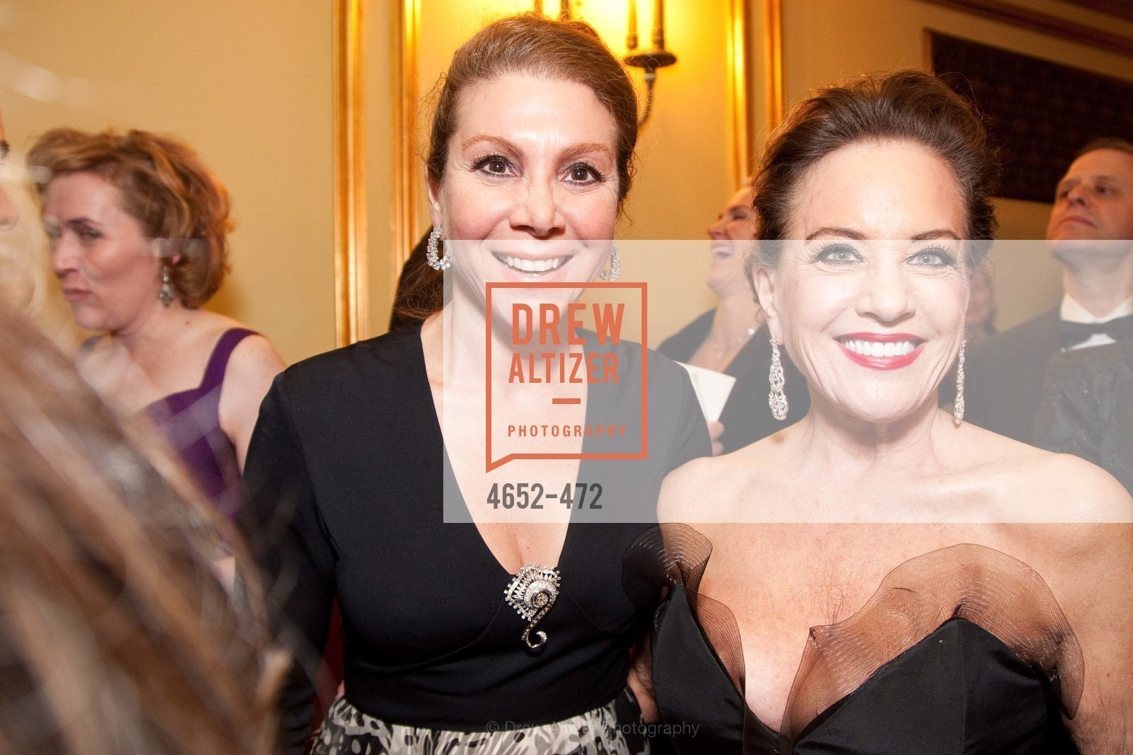 Debra Leylegian, Robin Collins, SAN FRANCISCO BALLET Opening Night Gala: PHENOMENAL - Intermission & Dinner, US. SF City Hall, January 22nd, 2014,Drew Altizer, Drew Altizer Photography, full-service agency, private events, San Francisco photographer, photographer california