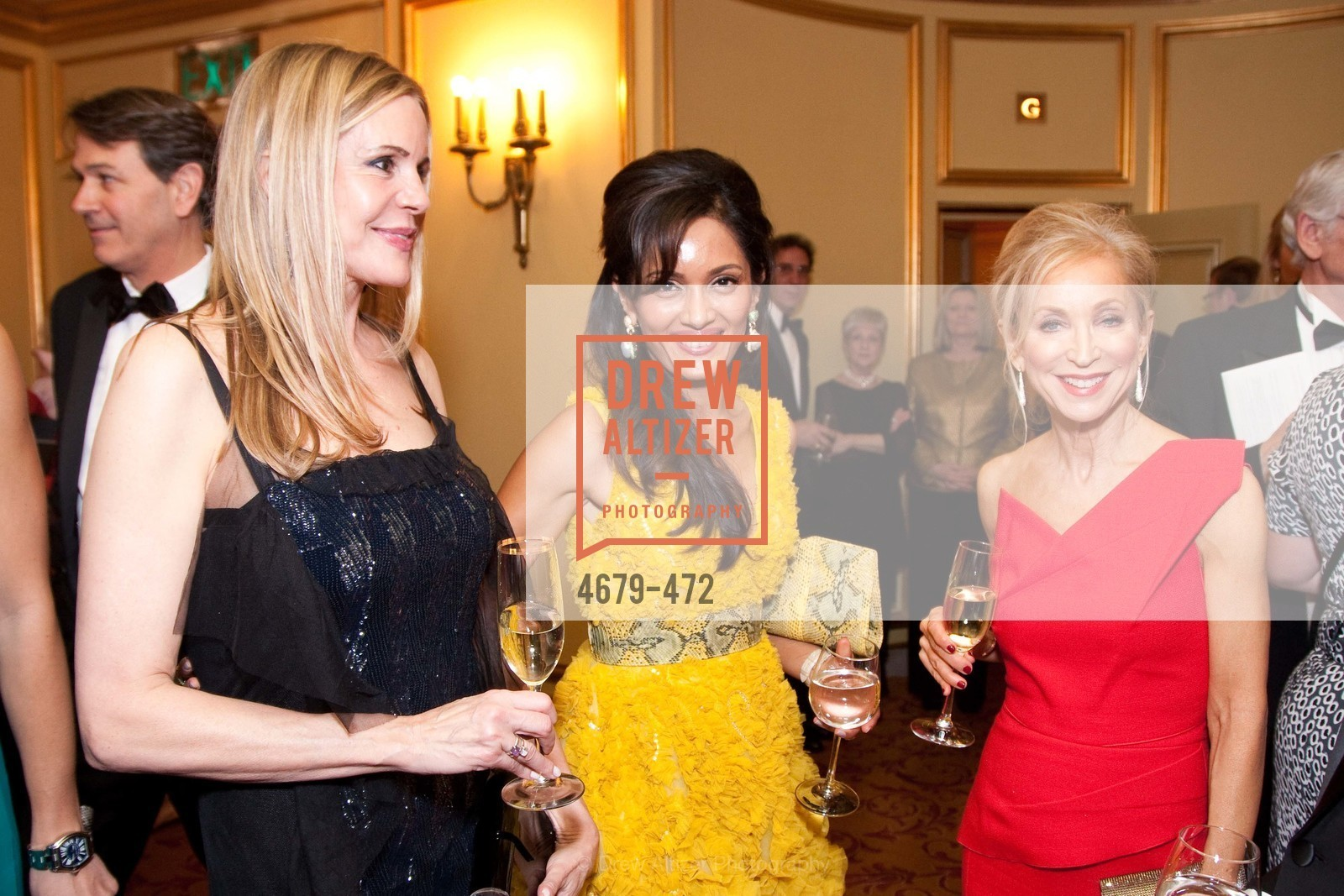 Mary Beth Shimmon, Komal Shah, Shelly Gordon, SAN FRANCISCO BALLET Opening Night Gala: PHENOMENAL - Intermission & Dinner, US. SF City Hall, January 22nd, 2014,Drew Altizer, Drew Altizer Photography, full-service agency, private events, San Francisco photographer, photographer california