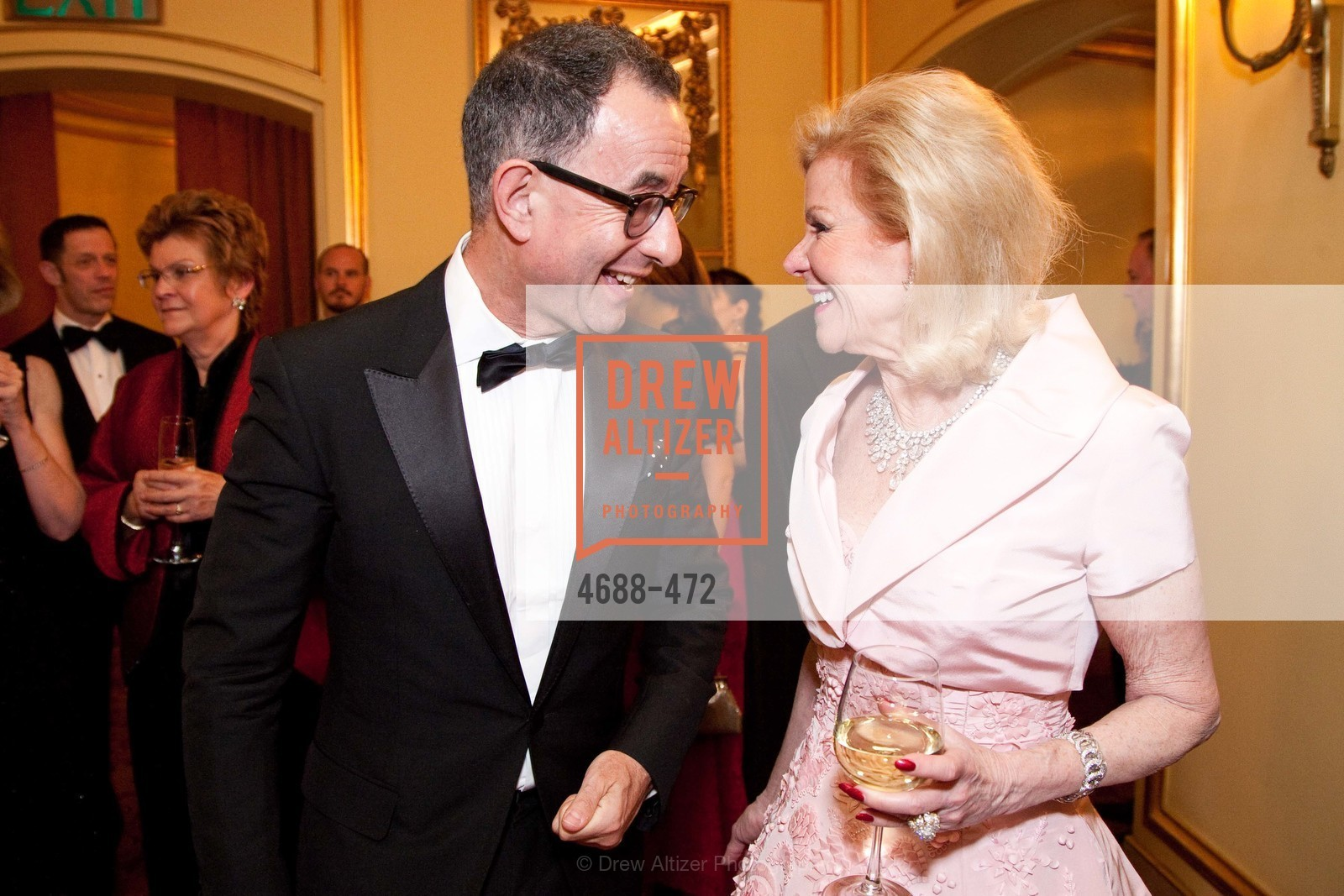 Colin Bailey, Dede Wilsey, SAN FRANCISCO BALLET Opening Night Gala: PHENOMENAL - Intermission & Dinner, US. SF City Hall, January 22nd, 2014,Drew Altizer, Drew Altizer Photography, full-service agency, private events, San Francisco photographer, photographer california