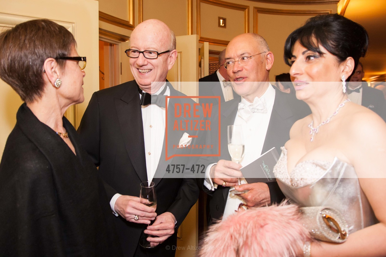 Tom Horn, Azadeh Riaz, SAN FRANCISCO BALLET Opening Night Gala: PHENOMENAL - Intermission & Dinner, US. SF City Hall, January 22nd, 2014,Drew Altizer, Drew Altizer Photography, full-service agency, private events, San Francisco photographer, photographer california