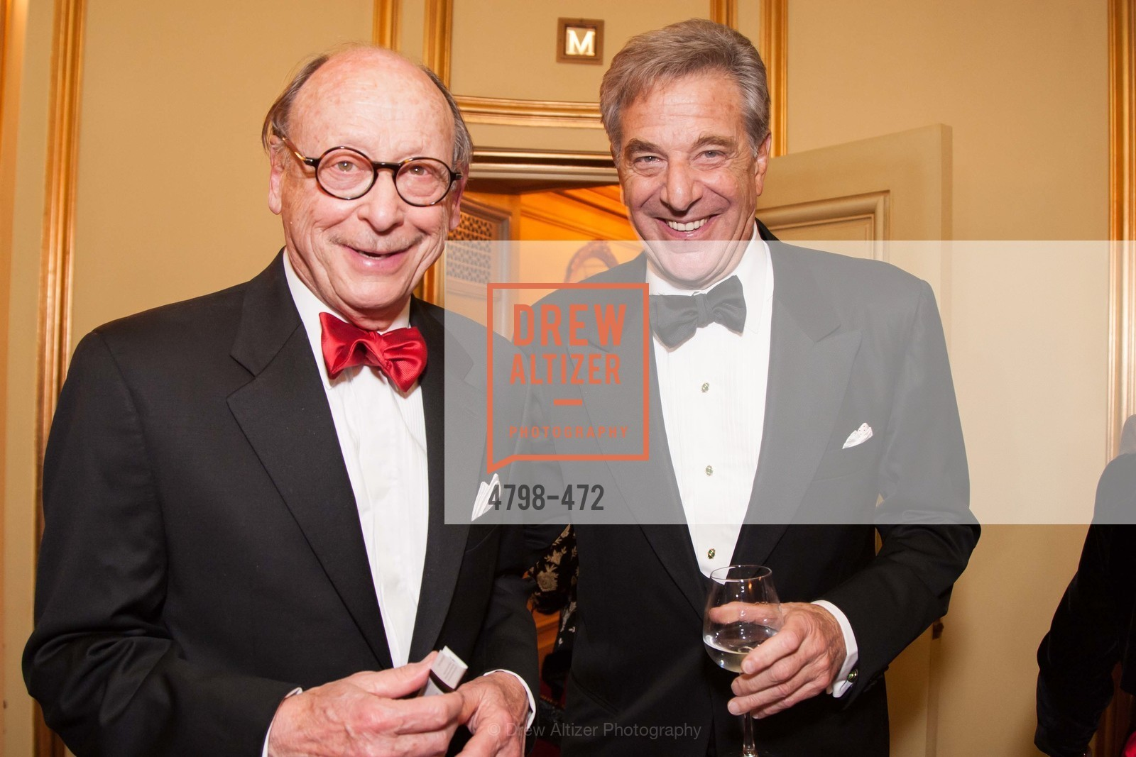 Bernard Osher, Paul Pelosi, SAN FRANCISCO BALLET Opening Night Gala: PHENOMENAL - Intermission & Dinner, US. SF City Hall, January 22nd, 2014,Drew Altizer, Drew Altizer Photography, full-service agency, private events, San Francisco photographer, photographer california