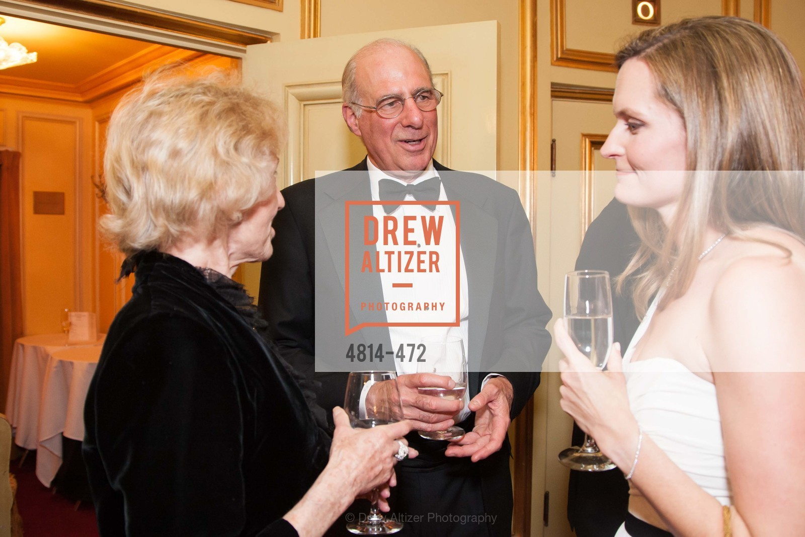 Nancy Bechtle, John Osterwiess, SAN FRANCISCO BALLET Opening Night Gala: PHENOMENAL - Intermission & Dinner, US. SF City Hall, January 22nd, 2014,Drew Altizer, Drew Altizer Photography, full-service agency, private events, San Francisco photographer, photographer california