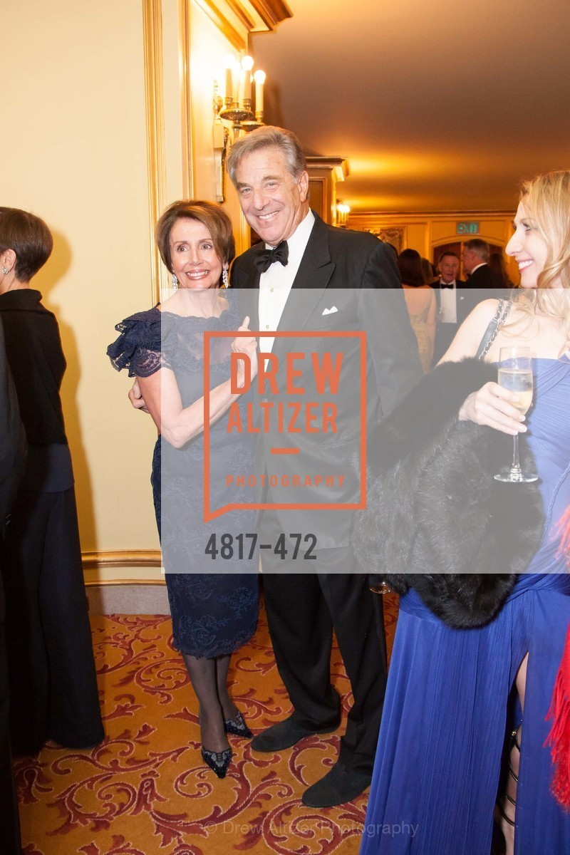 Nancy Pelosi, Paul Pelosi, SAN FRANCISCO BALLET Opening Night Gala: PHENOMENAL - Intermission & Dinner, US. SF City Hall, January 22nd, 2014,Drew Altizer, Drew Altizer Photography, full-service agency, private events, San Francisco photographer, photographer california