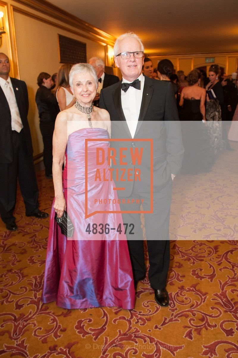 Marlene Tomasson, Helgi Tomasson, SAN FRANCISCO BALLET Opening Night Gala: PHENOMENAL - Intermission & Dinner, US. SF City Hall, January 22nd, 2014,Drew Altizer, Drew Altizer Photography, full-service event agency, private events, San Francisco photographer, photographer California