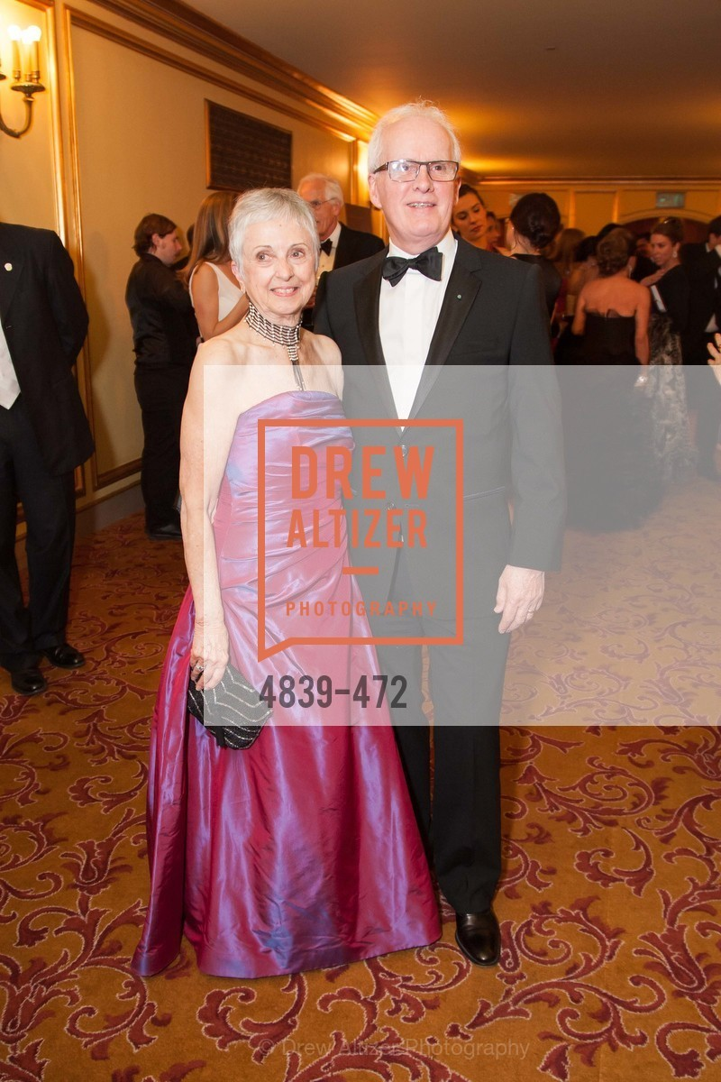 Marlene Tomasson, Helgi Tomasson, SAN FRANCISCO BALLET Opening Night Gala: PHENOMENAL - Intermission & Dinner, US. SF City Hall, January 22nd, 2014,Drew Altizer, Drew Altizer Photography, full-service agency, private events, San Francisco photographer, photographer california