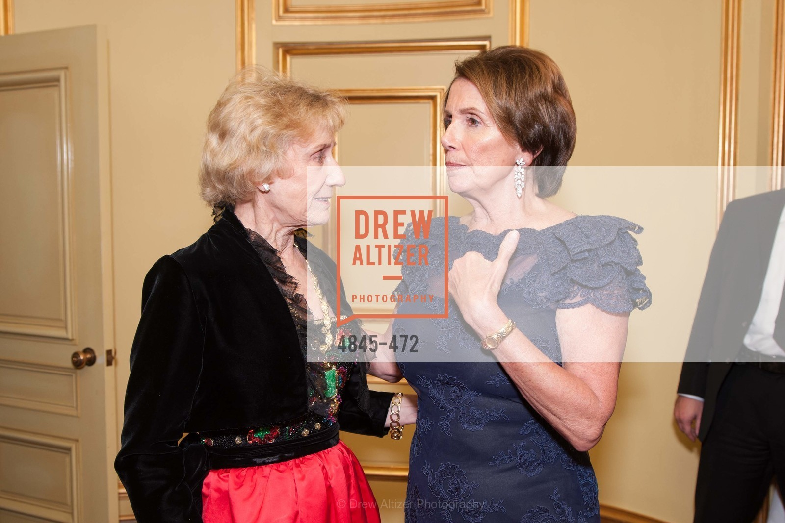 Nancy Bechtle, Nancy Pelosi, SAN FRANCISCO BALLET Opening Night Gala: PHENOMENAL - Intermission & Dinner, US. SF City Hall, January 22nd, 2014,Drew Altizer, Drew Altizer Photography, full-service agency, private events, San Francisco photographer, photographer california