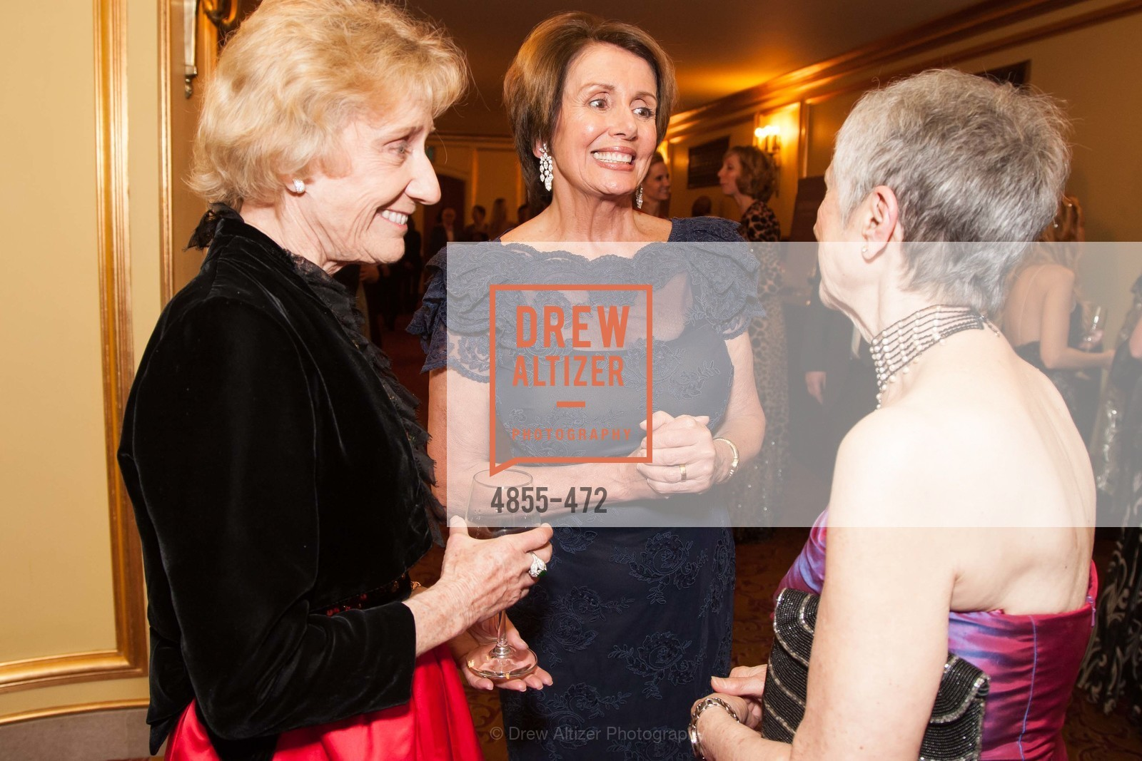 Nancy Bechtle, Nancy Pelosi, Marlene Tomasson, SAN FRANCISCO BALLET Opening Night Gala: PHENOMENAL - Intermission & Dinner, US. SF City Hall, January 22nd, 2014,Drew Altizer, Drew Altizer Photography, full-service agency, private events, San Francisco photographer, photographer california