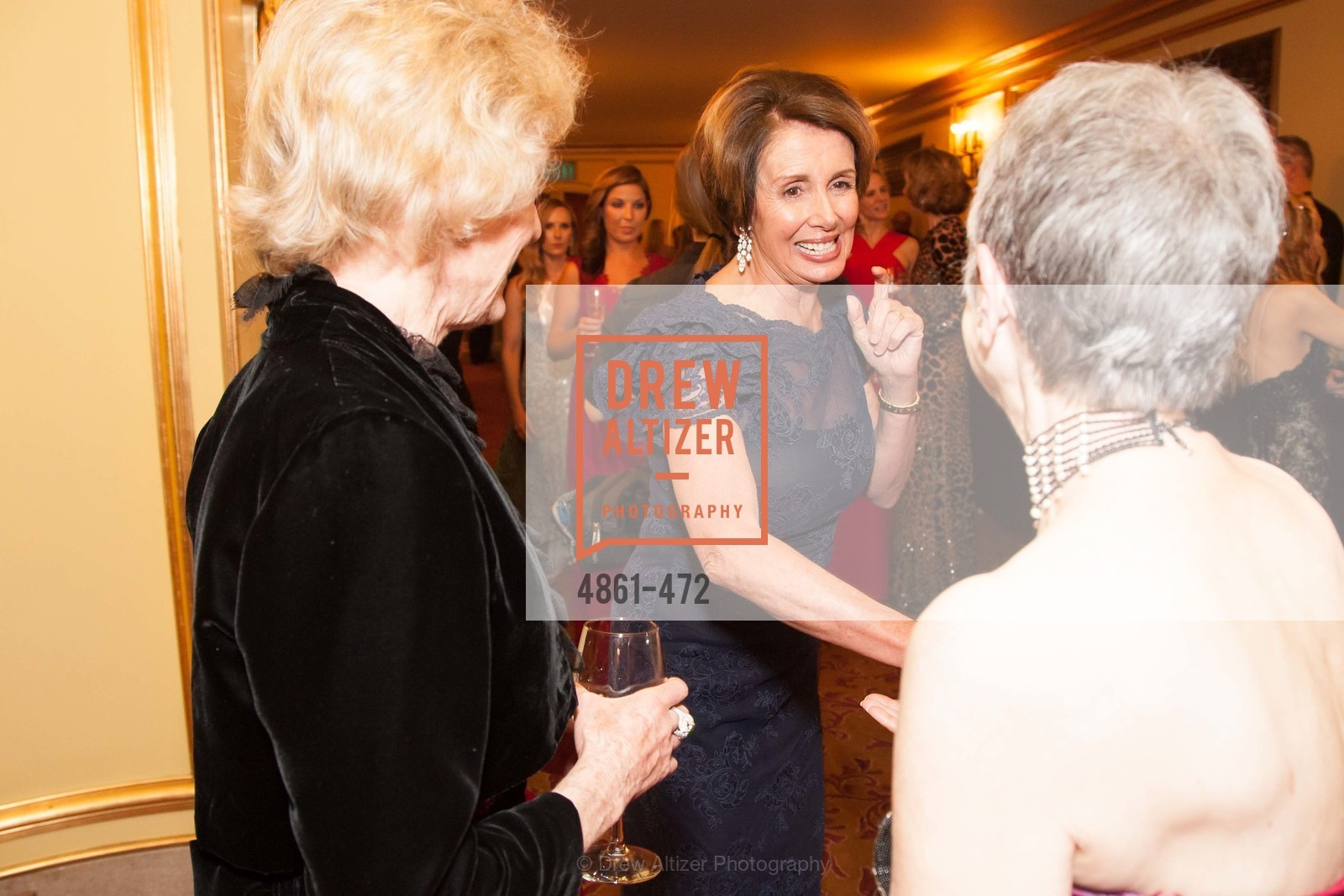 Nancy Pelosi, SAN FRANCISCO BALLET Opening Night Gala: PHENOMENAL - Intermission & Dinner, US. SF City Hall, January 22nd, 2014,Drew Altizer, Drew Altizer Photography, full-service agency, private events, San Francisco photographer, photographer california