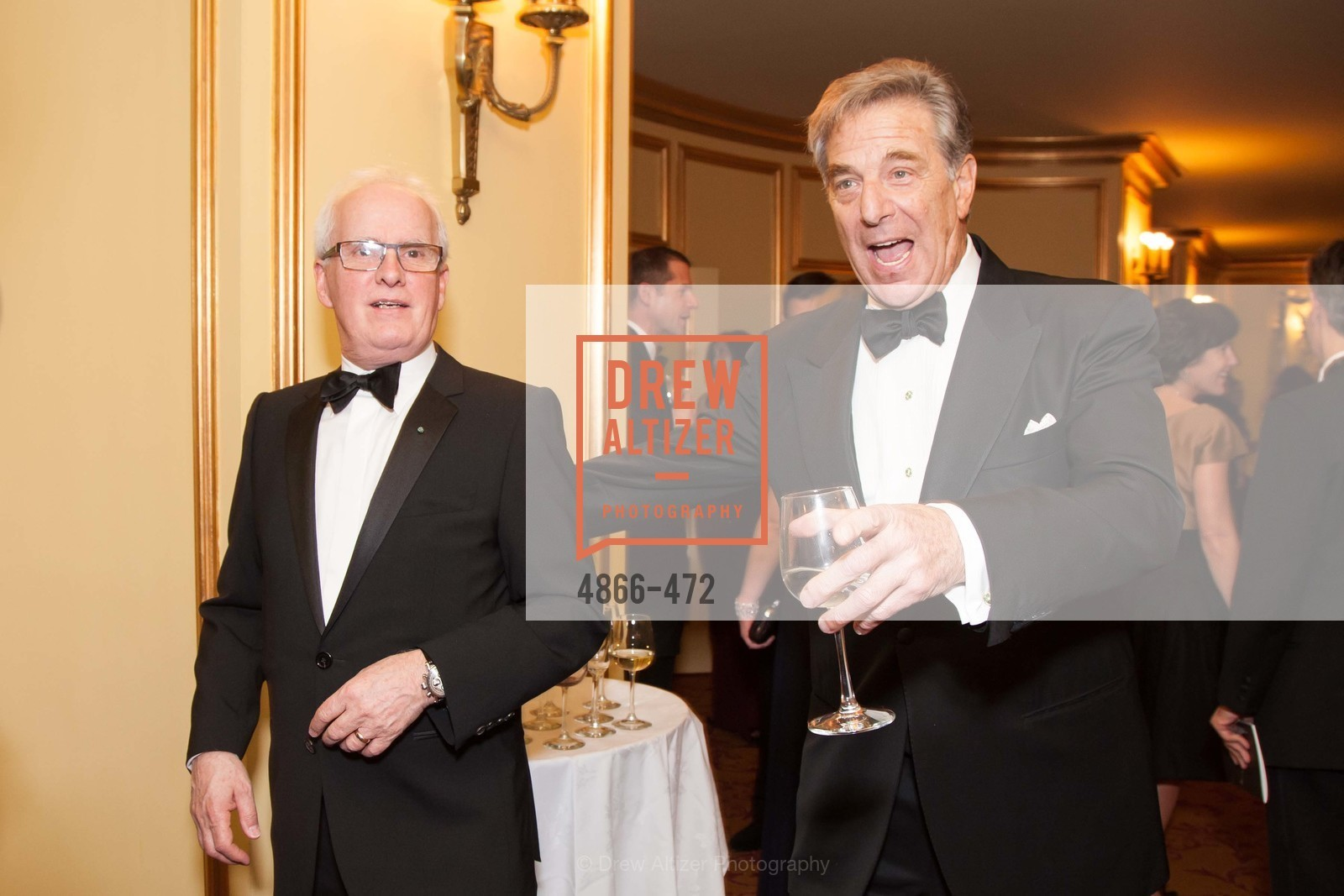 Helgi Tomasson, Paul Pelosi, SAN FRANCISCO BALLET Opening Night Gala: PHENOMENAL - Intermission & Dinner, US. SF City Hall, January 22nd, 2014,Drew Altizer, Drew Altizer Photography, full-service agency, private events, San Francisco photographer, photographer california