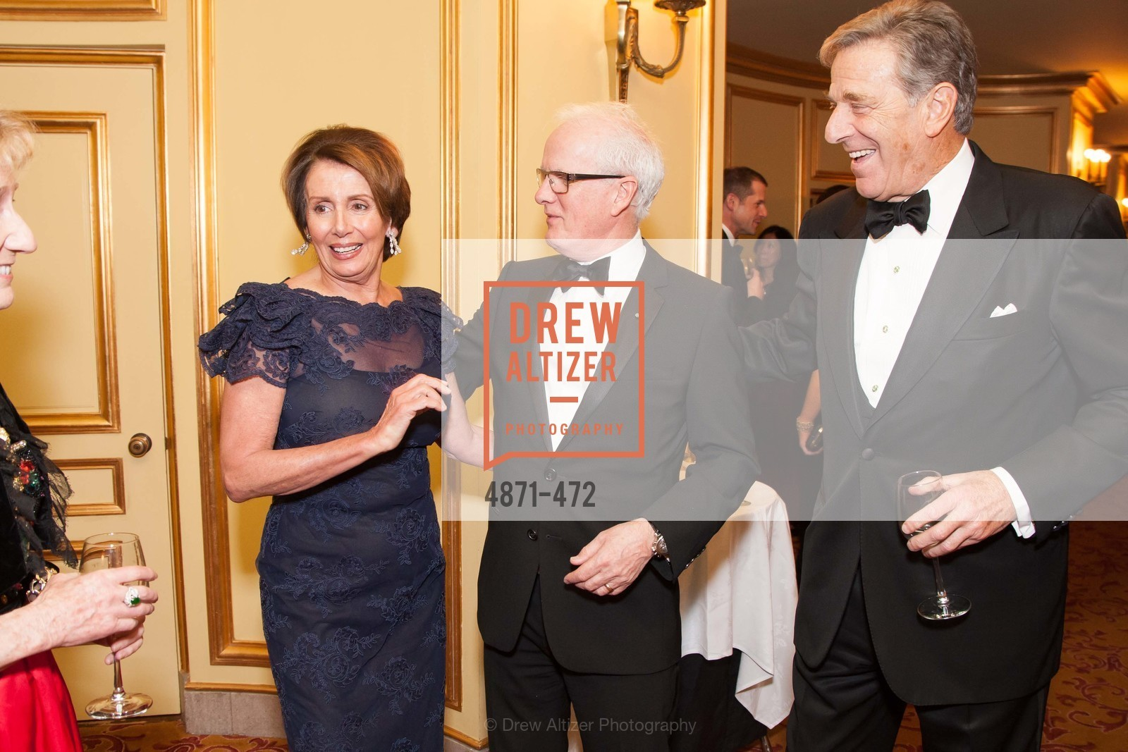 Nancy Pelosi, Helgi Tomasson, Paul Pelosi, SAN FRANCISCO BALLET Opening Night Gala: PHENOMENAL - Intermission & Dinner, US. SF City Hall, January 22nd, 2014,Drew Altizer, Drew Altizer Photography, full-service agency, private events, San Francisco photographer, photographer california