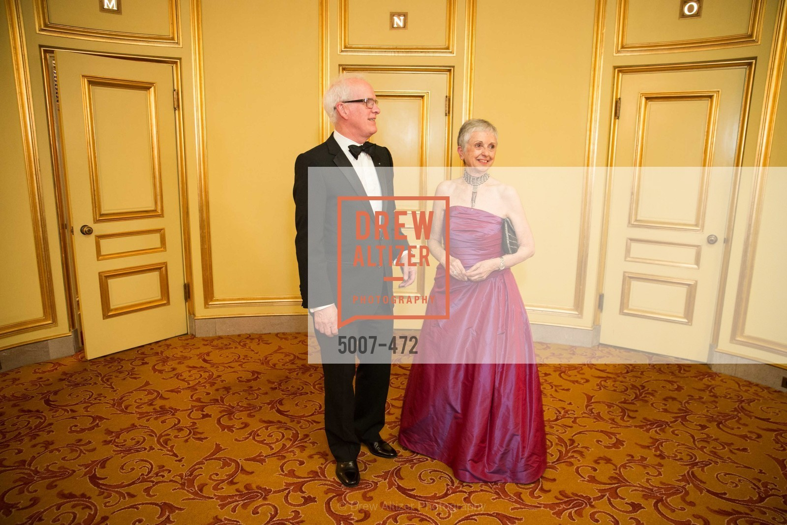 Helgi Tomasson, Marlene Tomasson, SAN FRANCISCO BALLET Opening Night Gala: PHENOMENAL - Intermission & Dinner, US. SF City Hall, January 22nd, 2014,Drew Altizer, Drew Altizer Photography, full-service agency, private events, San Francisco photographer, photographer california