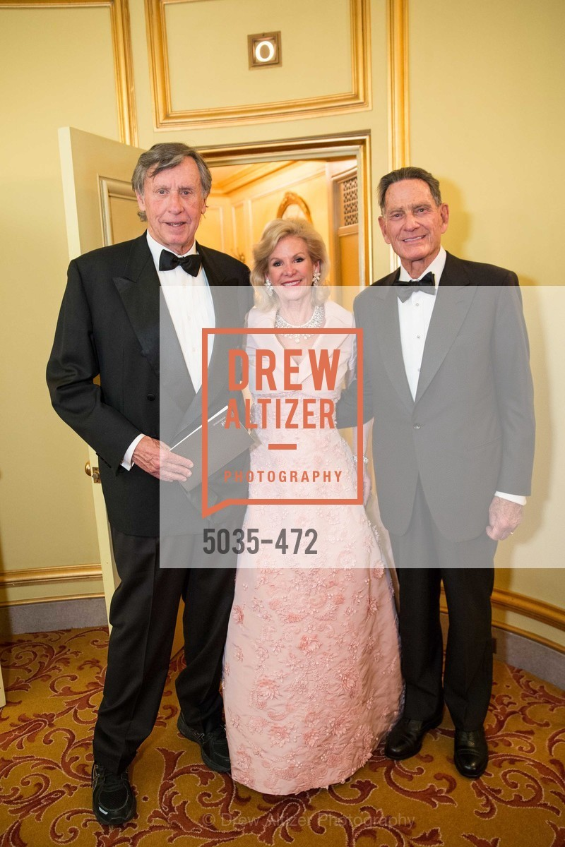 Richard C. Blum, Dede Wilsey, SAN FRANCISCO BALLET Opening Night Gala: PHENOMENAL - Intermission & Dinner, US. SF City Hall, January 22nd, 2014,Drew Altizer, Drew Altizer Photography, full-service agency, private events, San Francisco photographer, photographer california