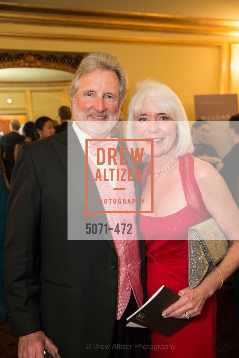 Steve Burrill, Kelli Burrill, SAN FRANCISCO BALLET Opening Night Gala: PHENOMENAL - Intermission & Dinner, US. SF City Hall, January 22nd, 2014,Drew Altizer, Drew Altizer Photography, full-service agency, private events, San Francisco photographer, photographer california