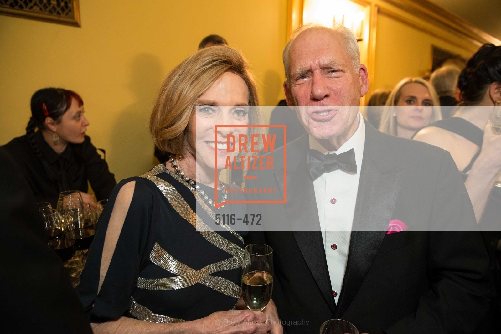 Ann Fisher, Gary Shansby, SAN FRANCISCO BALLET Opening Night Gala: PHENOMENAL - Intermission & Dinner, US. SF City Hall, January 22nd, 2014,Drew Altizer, Drew Altizer Photography, full-service agency, private events, San Francisco photographer, photographer california