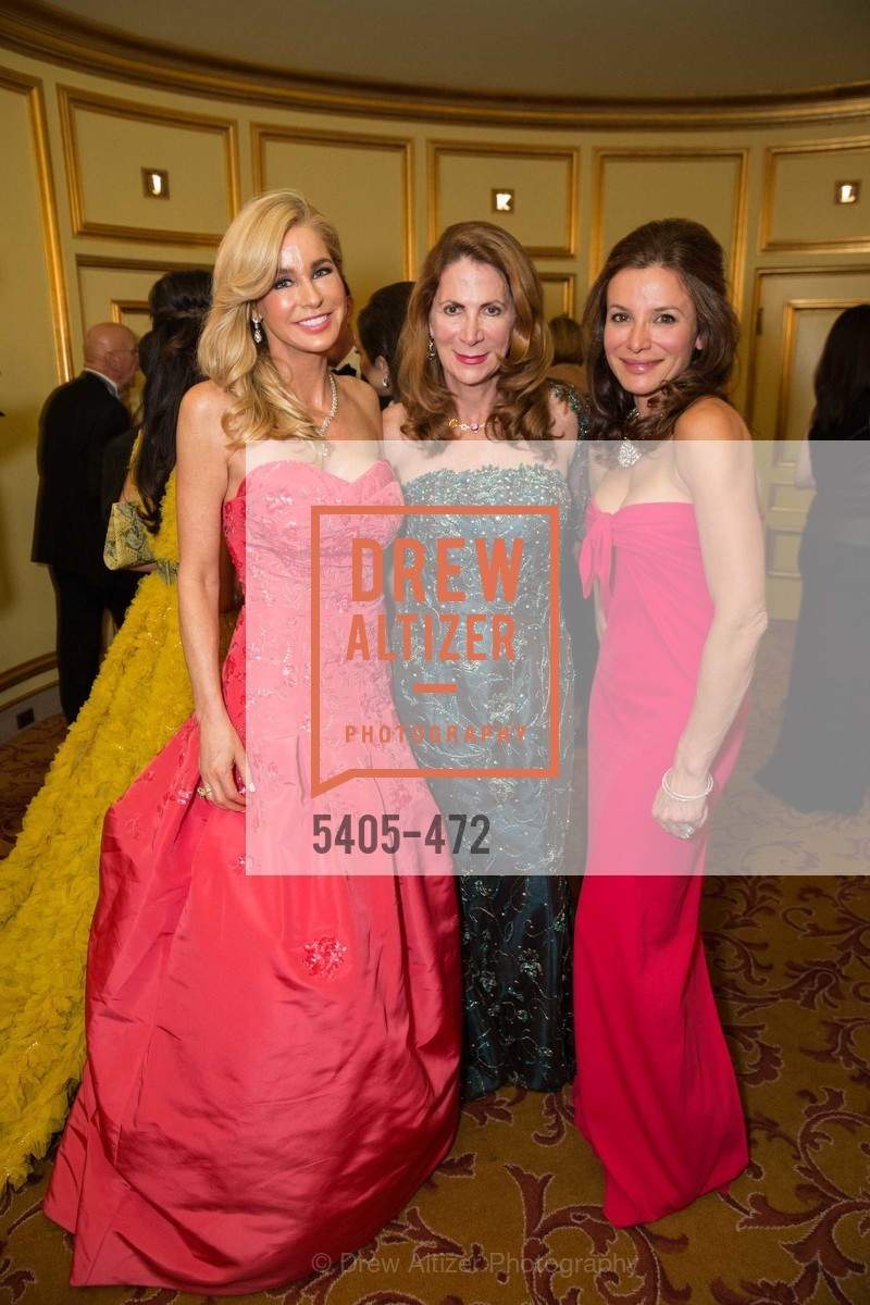 Paula Carano, Patricia Ferrin Loucks, Claudia Ross, SAN FRANCISCO BALLET Opening Night Gala: PHENOMENAL - Intermission & Dinner, US. SF City Hall, January 22nd, 2014,Drew Altizer, Drew Altizer Photography, full-service agency, private events, San Francisco photographer, photographer california