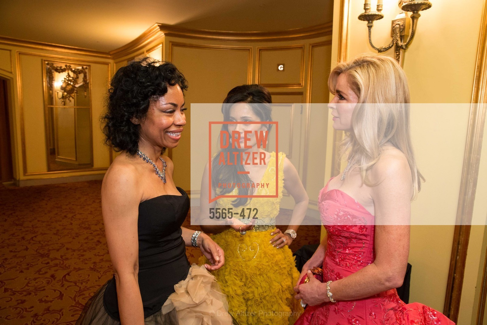 Tanya Powell, Komal Shah, Paula Carano, SAN FRANCISCO BALLET Opening Night Gala: PHENOMENAL - Intermission & Dinner, US. SF City Hall, January 22nd, 2014,Drew Altizer, Drew Altizer Photography, full-service agency, private events, San Francisco photographer, photographer california