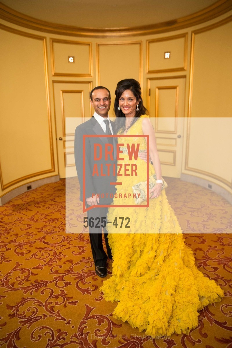 Gaurav Garg, Komal Shah, SAN FRANCISCO BALLET Opening Night Gala: PHENOMENAL - Intermission & Dinner, US. SF City Hall, January 22nd, 2014,Drew Altizer, Drew Altizer Photography, full-service agency, private events, San Francisco photographer, photographer california