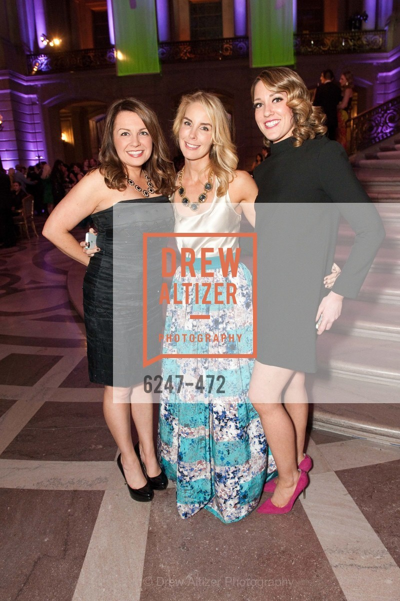 Jennifer Phoenix, Erin Danielson, Mickey Phoenix, SAN FRANCISCO BALLET Opening Night Gala: PHENOMENAL - Intermission & Dinner, US. SF City Hall, January 22nd, 2014,Drew Altizer, Drew Altizer Photography, full-service event agency, private events, San Francisco photographer, photographer California