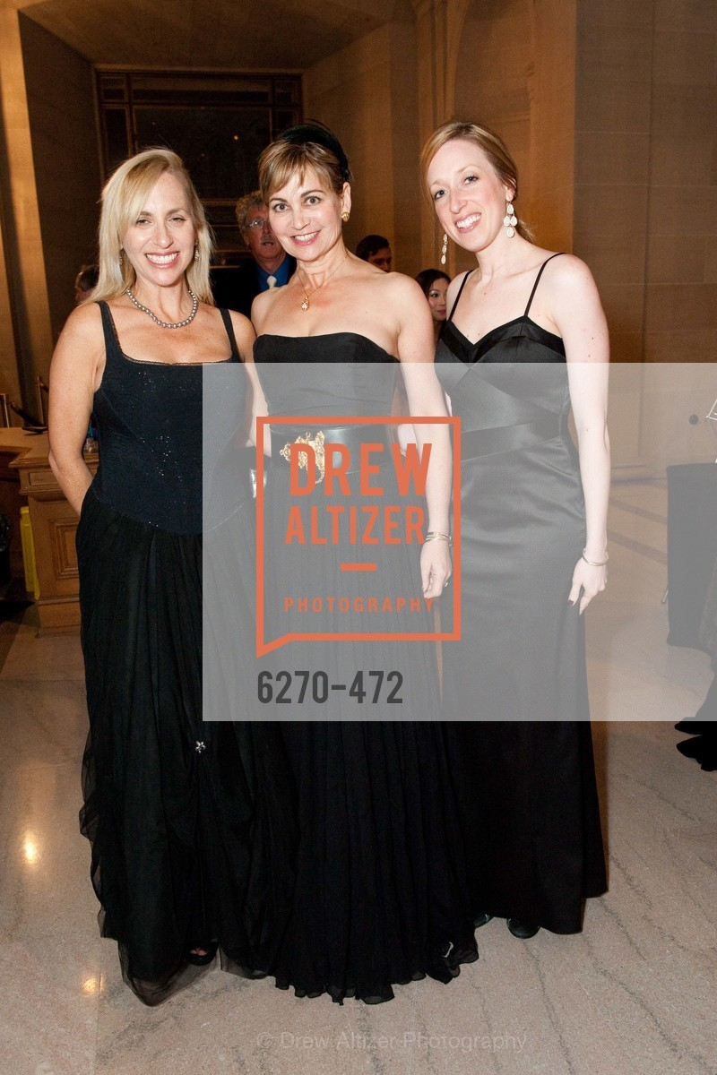 Beth Forsman, Jane Burkhard, Amy Hagelin, SAN FRANCISCO BALLET Opening Night Gala: PHENOMENAL - Intermission & Dinner, US. SF City Hall, January 22nd, 2014,Drew Altizer, Drew Altizer Photography, full-service agency, private events, San Francisco photographer, photographer california