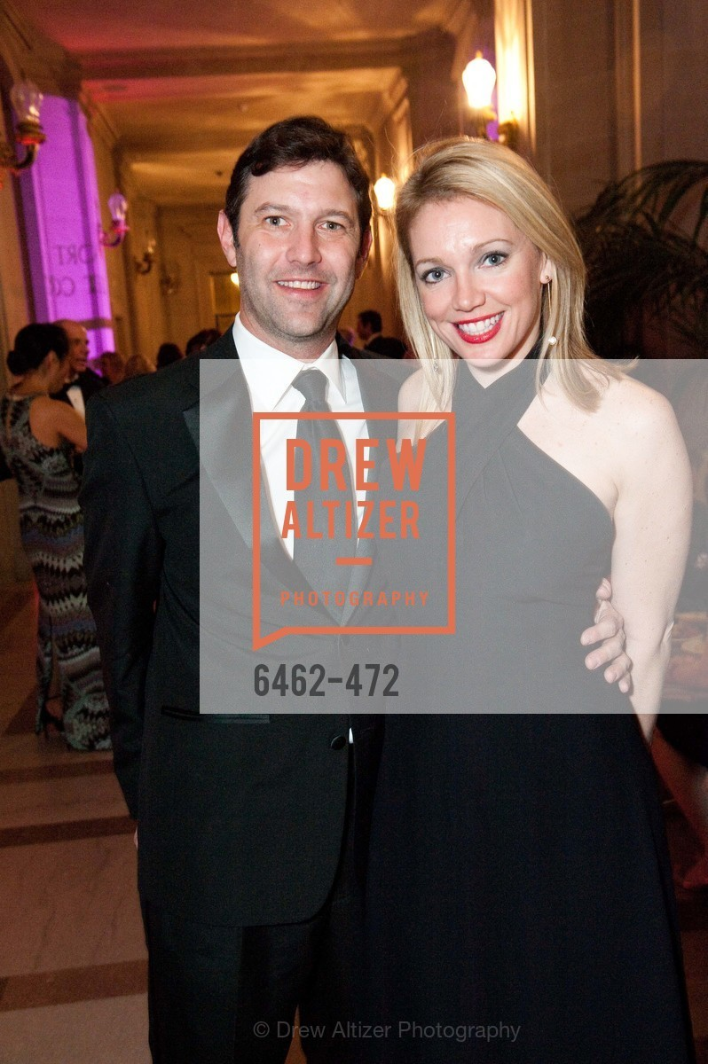 Clayton Datton, Jennifer Warren, SAN FRANCISCO BALLET Opening Night Gala: PHENOMENAL - Intermission & Dinner, US. SF City Hall, January 22nd, 2014,Drew Altizer, Drew Altizer Photography, full-service agency, private events, San Francisco photographer, photographer california