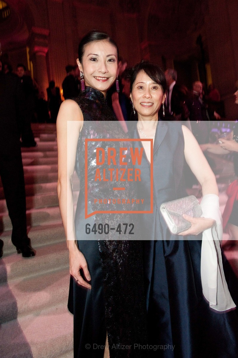 Yuan Yuan Tan, Chaomei Chen, SAN FRANCISCO BALLET Opening Night Gala: PHENOMENAL - Intermission & Dinner, US. SF City Hall, January 22nd, 2014,Drew Altizer, Drew Altizer Photography, full-service agency, private events, San Francisco photographer, photographer california