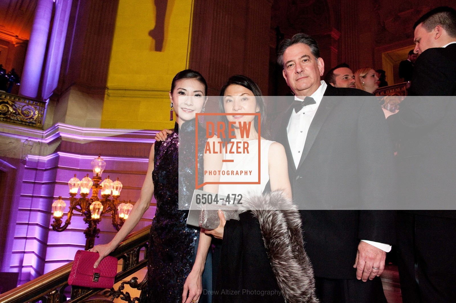 Yuan Yuan Tan, Xiapei Gelb, Andrew Gelb, SAN FRANCISCO BALLET Opening Night Gala: PHENOMENAL - Intermission & Dinner, US. SF City Hall, January 22nd, 2014,Drew Altizer, Drew Altizer Photography, full-service event agency, private events, San Francisco photographer, photographer California