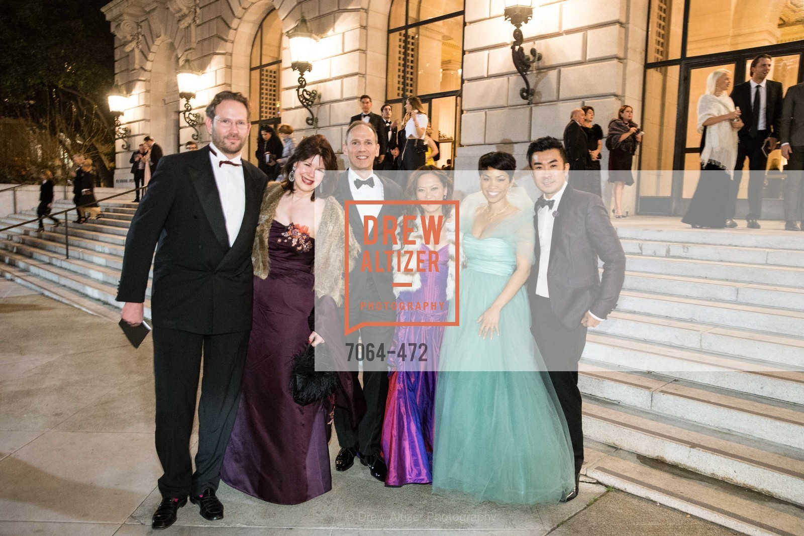 Elaine Mellis, Elizabeth Fullerton, Moanalani Jeffrey, SAN FRANCISCO BALLET Opening Night Gala: PHENOMENAL - Intermission & Dinner, US. SF City Hall, January 22nd, 2014,Drew Altizer, Drew Altizer Photography, full-service agency, private events, San Francisco photographer, photographer california