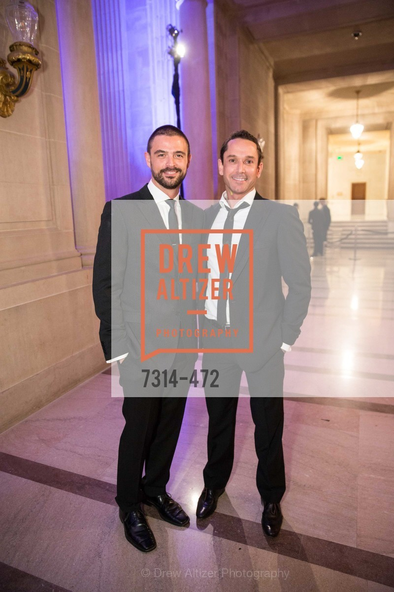John Gidding, Damian Smith, SAN FRANCISCO BALLET Opening Night Gala: PHENOMENAL - Intermission & Dinner, US. SF City Hall, January 22nd, 2014,Drew Altizer, Drew Altizer Photography, full-service agency, private events, San Francisco photographer, photographer california