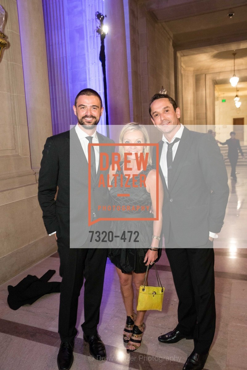 John Gidding, Angie Silvy, Damian Smith, SAN FRANCISCO BALLET Opening Night Gala: PHENOMENAL - Intermission & Dinner, US. SF City Hall, January 22nd, 2014,Drew Altizer, Drew Altizer Photography, full-service agency, private events, San Francisco photographer, photographer california