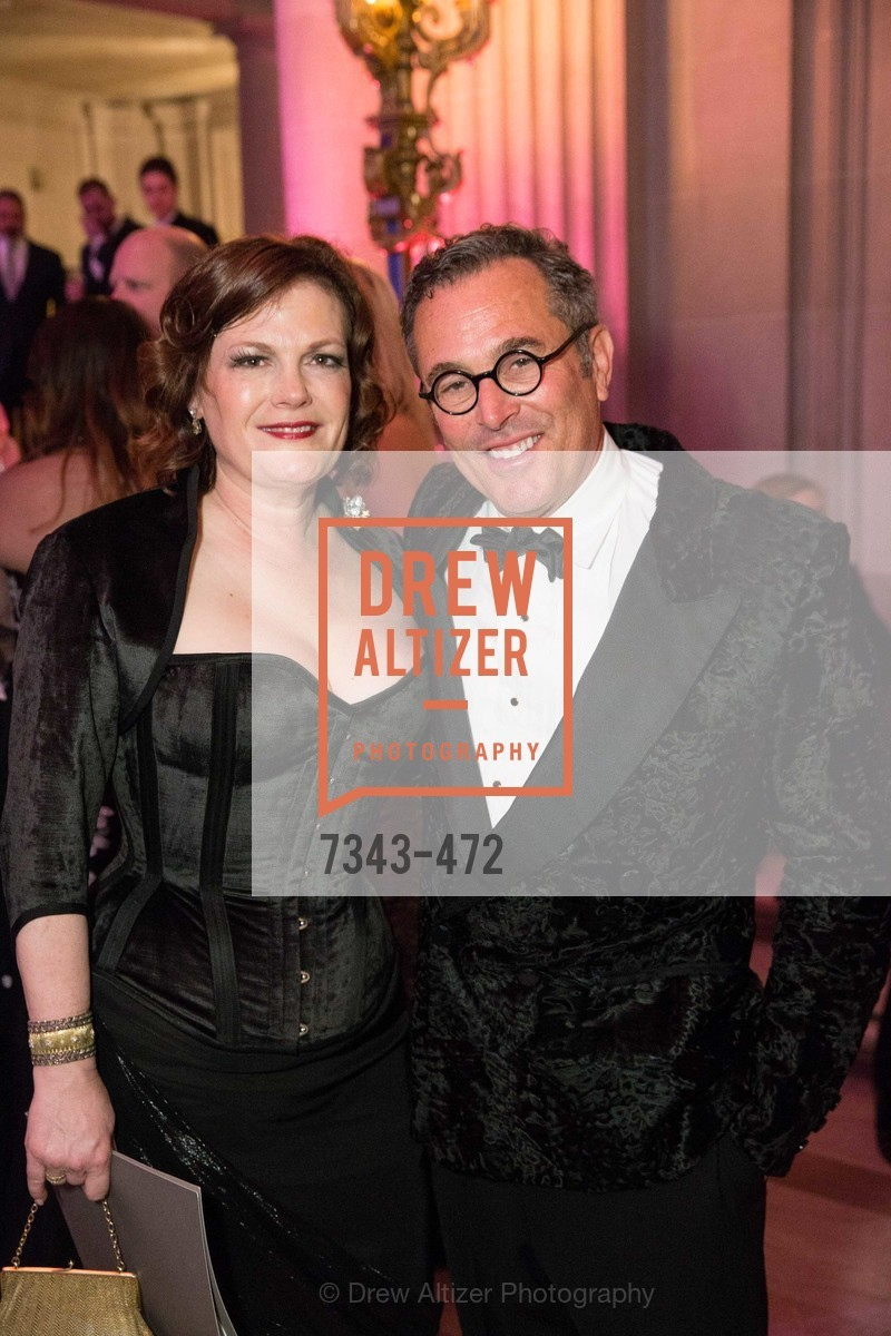 Jennifer Raiser, Ricky Serbin, SAN FRANCISCO BALLET Opening Night Gala: PHENOMENAL - Intermission & Dinner, US. SF City Hall, January 22nd, 2014,Drew Altizer, Drew Altizer Photography, full-service agency, private events, San Francisco photographer, photographer california
