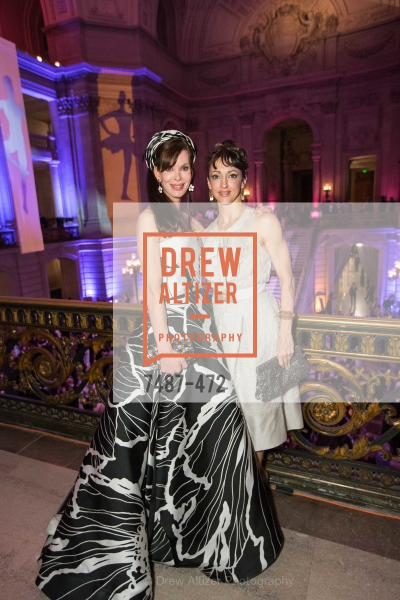 Stephanie Ejabat, Lorena Feijoo, SAN FRANCISCO BALLET Opening Night Gala: PHENOMENAL - Intermission & Dinner, US. SF City Hall, January 22nd, 2014,Drew Altizer, Drew Altizer Photography, full-service agency, private events, San Francisco photographer, photographer california