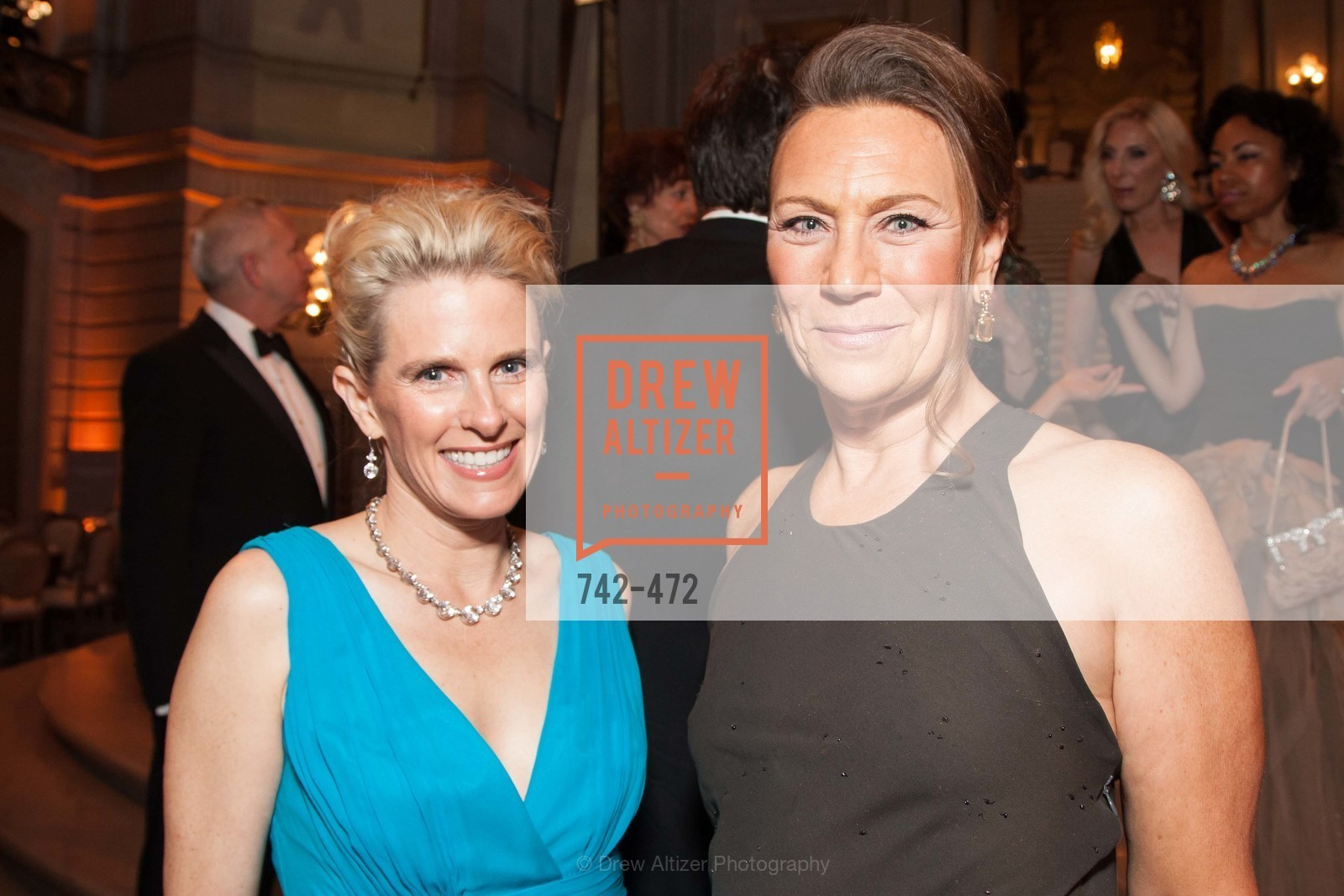 Marie Hurabiell, Carla Wytmar, SAN FRANCISCO BALLET Opening Night Gala: PHENOMENAL - Intermission & Dinner, US. SF City Hall, January 22nd, 2014,Drew Altizer, Drew Altizer Photography, full-service agency, private events, San Francisco photographer, photographer california
