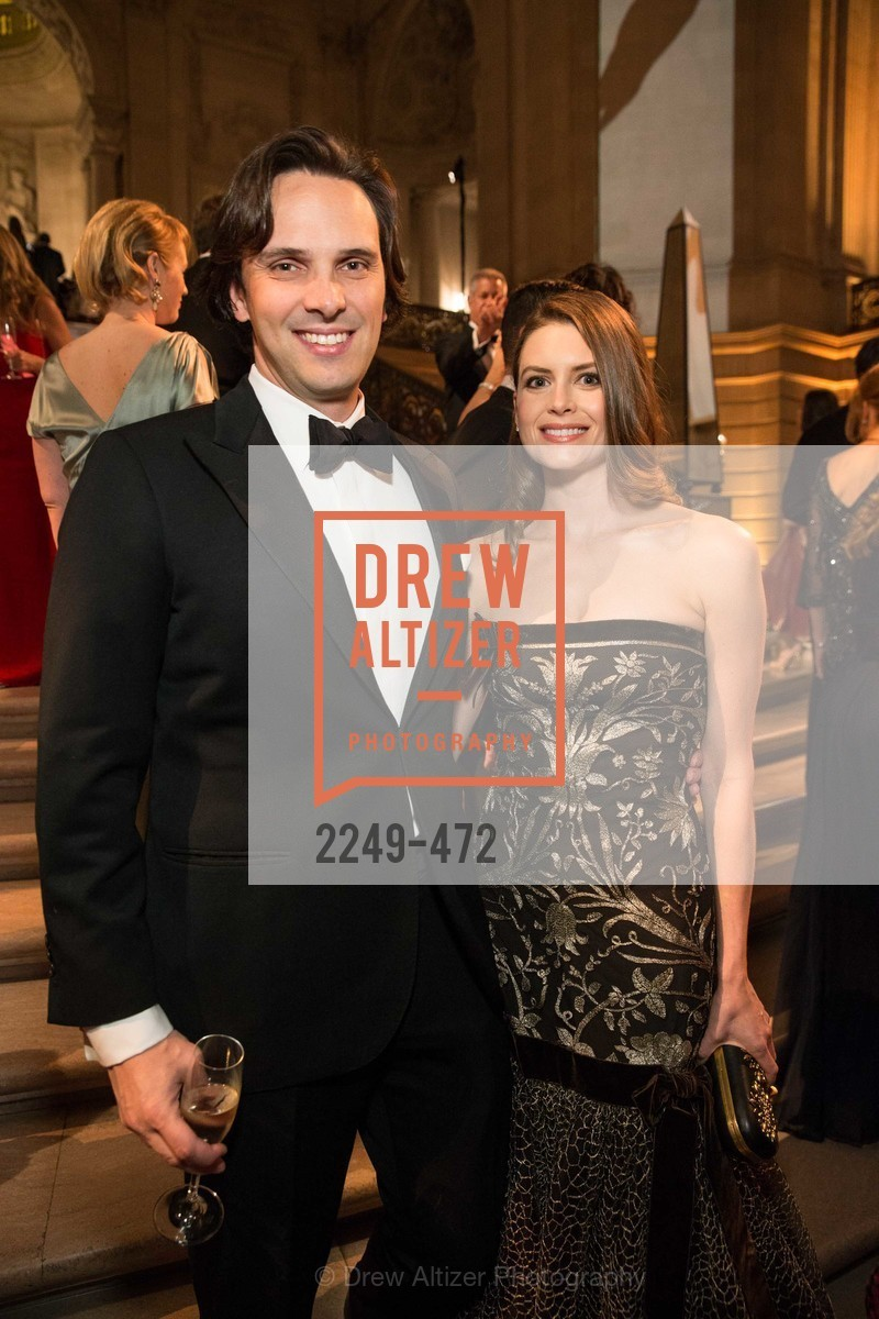 Will Harbin, Stephanie Southerland, SAN FRANCISCO BALLET Opening Night Gala: PHENOMENAL - Intermission & Dinner, US. SF City Hall, January 22nd, 2014,Drew Altizer, Drew Altizer Photography, full-service event agency, private events, San Francisco photographer, photographer California