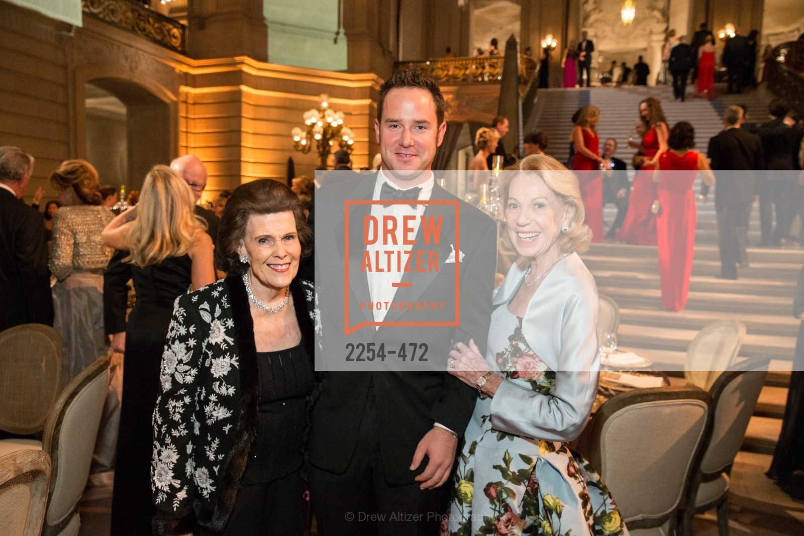 Lucy Jewett, Drew Weyerhaeuser, Charlotte Shultz, SAN FRANCISCO BALLET Opening Night Gala: PHENOMENAL - Intermission & Dinner, US. SF City Hall, January 22nd, 2014,Drew Altizer, Drew Altizer Photography, full-service agency, private events, San Francisco photographer, photographer california