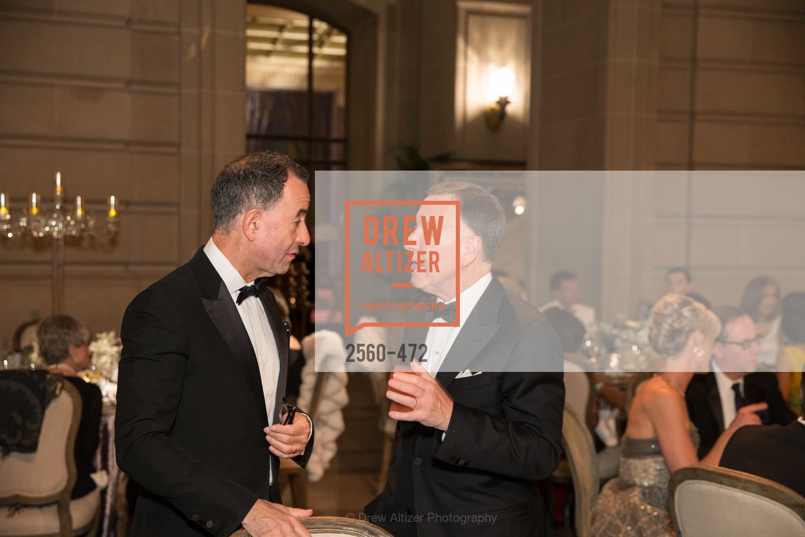 Carl Pascarella, Colin Bailey, SAN FRANCISCO BALLET Opening Night Gala: PHENOMENAL - Intermission & Dinner, US. SF City Hall, January 22nd, 2014,Drew Altizer, Drew Altizer Photography, full-service agency, private events, San Francisco photographer, photographer california