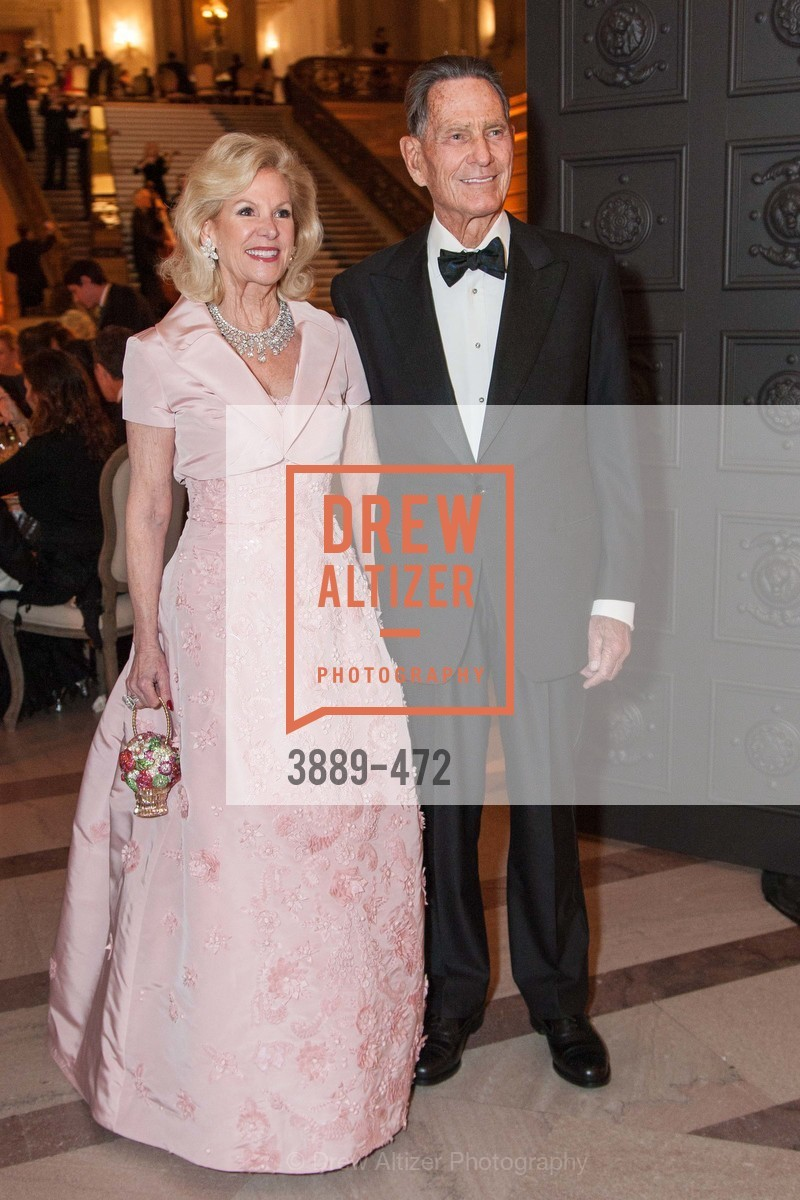 Dede Wilsey, Chal de Guigne, SAN FRANCISCO BALLET Opening Night Gala: PHENOMENAL - Intermission & Dinner, US. SF City Hall, January 22nd, 2014,Drew Altizer, Drew Altizer Photography, full-service agency, private events, San Francisco photographer, photographer california