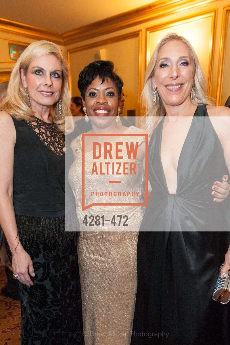 Jacqueline Jacoby, Stephanie Russell, Betsy Linder, SAN FRANCISCO BALLET Opening Night Gala: PHENOMENAL - Intermission & Dinner, US. SF City Hall, January 22nd, 2014,Drew Altizer, Drew Altizer Photography, full-service agency, private events, San Francisco photographer, photographer california