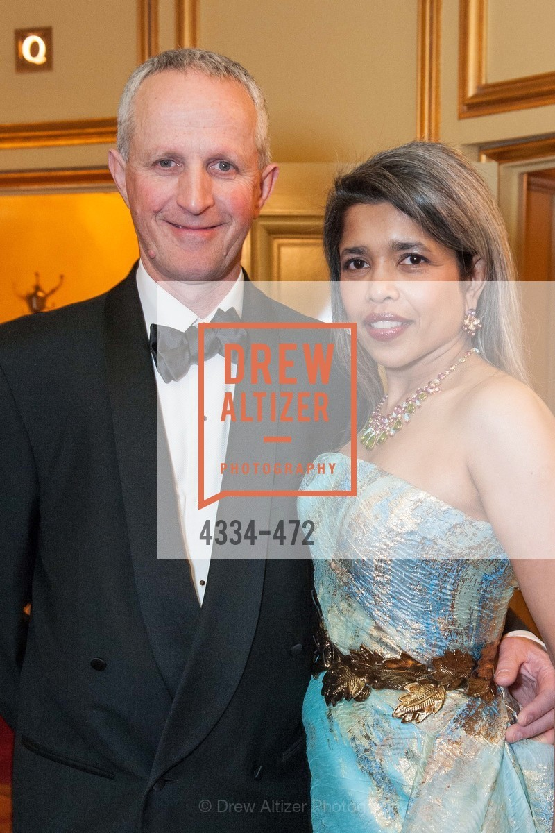 Phil Pemberton, Deepa Pakianathan, SAN FRANCISCO BALLET Opening Night Gala: PHENOMENAL - Intermission & Dinner, US. SF City Hall, January 22nd, 2014,Drew Altizer, Drew Altizer Photography, full-service agency, private events, San Francisco photographer, photographer california