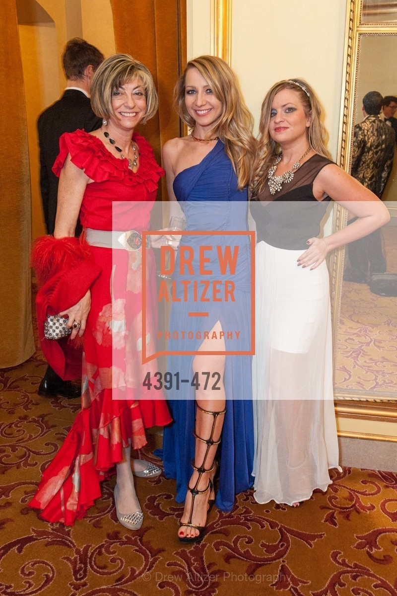 Ludmilla Eggleton, Lana Ricketts, Julie Hall, SAN FRANCISCO BALLET Opening Night Gala: PHENOMENAL - Intermission & Dinner, US. SF City Hall, January 22nd, 2014,Drew Altizer, Drew Altizer Photography, full-service agency, private events, San Francisco photographer, photographer california