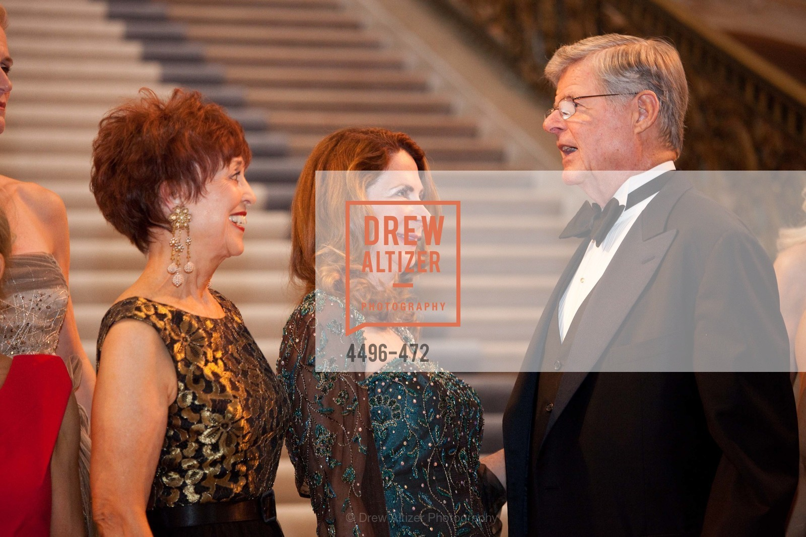 Suzanne Thornton, Patricia Ferrin Loucks, Richard Barker, SAN FRANCISCO BALLET Opening Night Gala: PHENOMENAL - Intermission & Dinner, US. SF City Hall, January 22nd, 2014,Drew Altizer, Drew Altizer Photography, full-service event agency, private events, San Francisco photographer, photographer California