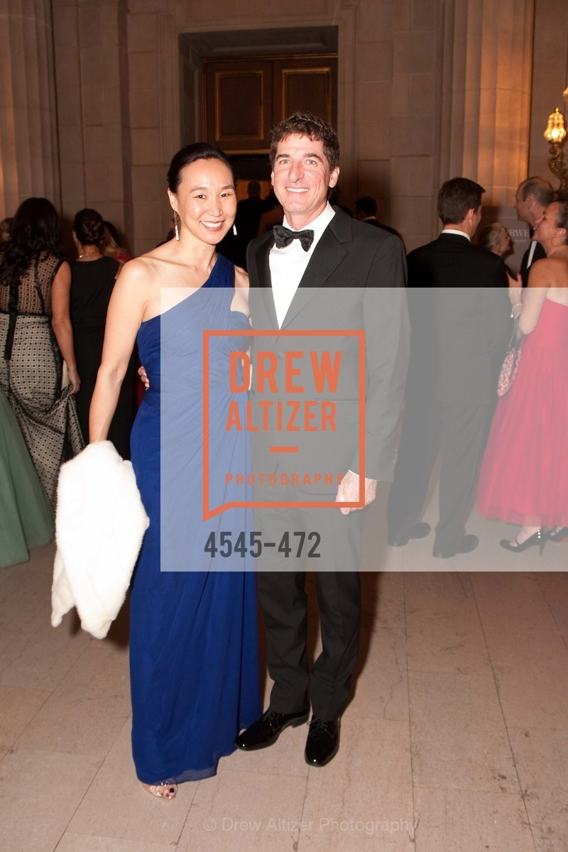 Carolyn Chang, Patrick King, SAN FRANCISCO BALLET Opening Night Gala: PHENOMENAL - Intermission & Dinner, US. SF City Hall, January 22nd, 2014,Drew Altizer, Drew Altizer Photography, full-service agency, private events, San Francisco photographer, photographer california