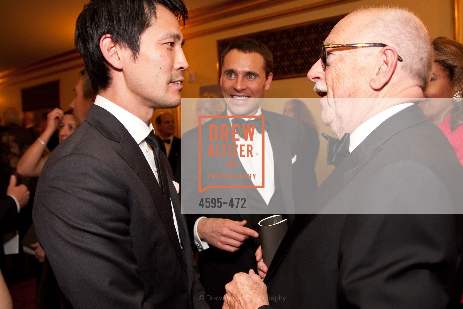 Sunwoo Huang, Jeff Garelick, Wilkes Bashford, SAN FRANCISCO BALLET Opening Night Gala: PHENOMENAL - Intermission & Dinner, US. SF City Hall, January 22nd, 2014,Drew Altizer, Drew Altizer Photography, full-service agency, private events, San Francisco photographer, photographer california